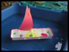 Egg Carton Sailboat : How to Make a Toy Boat Directions for Children