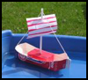 Making a Toy Boat Project for Children