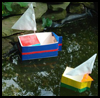 Milk Boats : Making a Toy Boat or Ship Craft for Kids