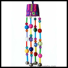 Beaded   Wind Chimes  : How to Make Wind Chimes Crafts for Kids