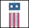 Patriotic   Wind Chimes  : Making Wind Chimes Activities for Children