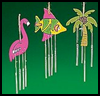 Luau   Wind Chimes  : Making Wind Chimes Activities for Children