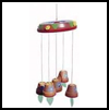 Flowerpot   Wind Chime  : How to Make Wind Chimes Crafts for Kids