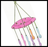 Cutlery   Wind Chime  : How to Make Wind Chimes Crafts for Kids