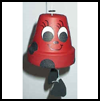 Lady   Bug Wind Chime  : Making Wind Chimes Activities for Children
