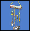 Spoon   Percussion Mobile  : Instructions for Making Wind Chimes