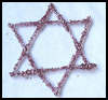 "<SPAN LANG=""en"">Glittery    Star of David   : Jewish Arts & Crafts Ideas for Children</SPAN>"