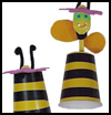 "Shana    Tova Bee Puppet <span style=""  background: #ffffff; line-height: 130%""> : Judaica Crafts Ideas for Jewish Kids</span>"