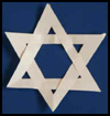 Easy    Fold and Cut Star of David