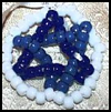 3D    Stars  of David : Jewish Crafts Ideas for Kids