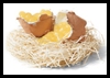 Candied Eggshells Easter Craft for Kids