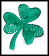 Green Stamp - Shamrocks Craft for Children