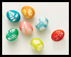 How to ... Make Leaf Print Eggs Activity for Children