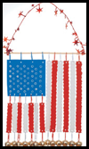 Musical Stars and Stripes Craft