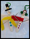 Snowman Ornament Christmas Craft