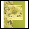 Sunflower Mothers Day Card