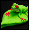 Peeping Tree Frog Crafts Activity