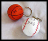 Sports Ball Key Chains