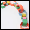 Make a Paper Chain Craft for Ages 3 to 5