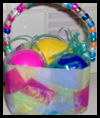 Easy Easter Basket Craft for Kids with Recycled Items