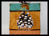 Pinecone Christmas Tree Card & Ornament Craft