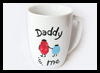 Dad & Me Coffee Mug Craft