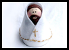 Clay Pot Jesus Arts & Crafts Project for Children