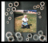 Car Nut Frame Craft for Dad