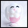 Sleepy Bunny Egg Shell Crafts Idea for Kids