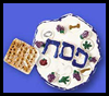Passover Sedar Plate Crafts Activity for Kids