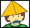 Hamans 3 Pointed Hat Craft