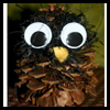 Wise Guy Owl Pine Cone Craft for Kids