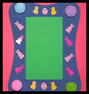 Easter Fun Foam Frame Crafts Idea