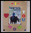 Mother's Day Photo Gift Bag Crafts Idea