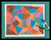 Patchwork Quilt Paper Craft