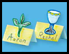 Passover Seder Place Cards Craft