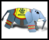 Stampy the Elephant Paper Model