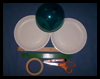 <strong>Craft Project: Balloon And Paddle Game for Kids  : Tennis Crafts Ideas for Kids</strong>