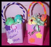 Personalized Easter Basket Craft for Kids