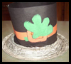 Paper Plate Leprechaun Hat Craft