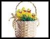 Chicks in a Basket Activity for KIds