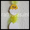 Chick Paper Mobile Craft