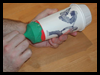 Paper Cup Air Cannon Toy