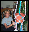A Child's Macrame Project