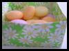 Origami Box for Mini Easter Eggs Craft for Kids