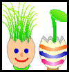 Eggshell Plant Pots Easter Craft Activity
