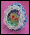 String Easter Egg Balloon Art Craft for Children