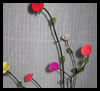 Waste Branches - Rose on Branches Craft Ideas