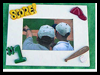 Dad's Baseball Frame Father's Day Gift Craft -