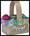 Mini Easter Baskets Crafts Activity